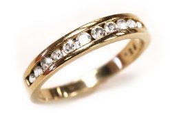 Diamond Toe Rings