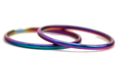 Titanium Toe Rings